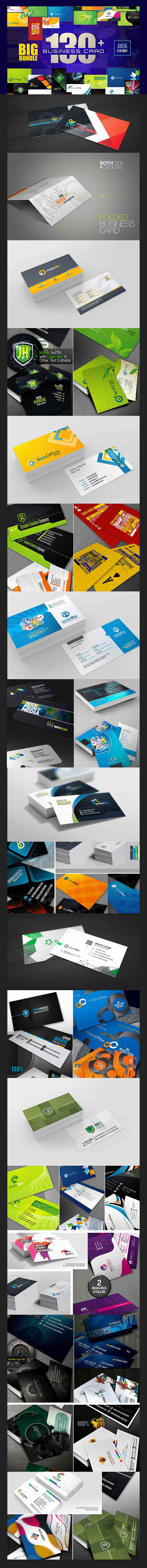 Entire Shop - Business Presentation & Print Bundle | Preview - 7 business Card