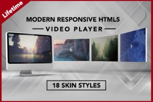 Modern Responsive HTML5 Video Player