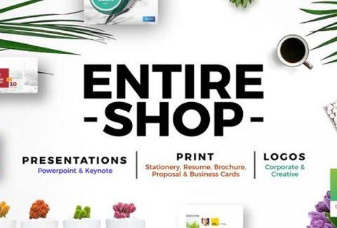 Business Presentation & Print - An Entire Shop Bundle | DealFuel