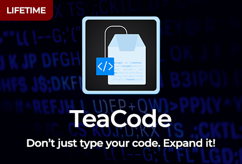 TeaCode Code Expander For Creating Your Own Expanders At Ease!