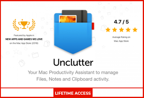 Unclutter - A Productivity App For Mac Users