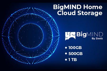 BigMIND Home Cloud Storage Plans – 100GB, 500GB & 1TB