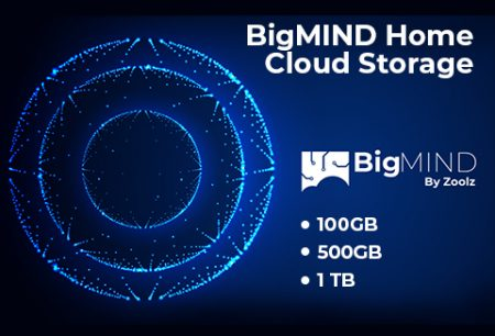 BigMIND Home Cloud Storage Plans – 100GB, 500GB & 1TB