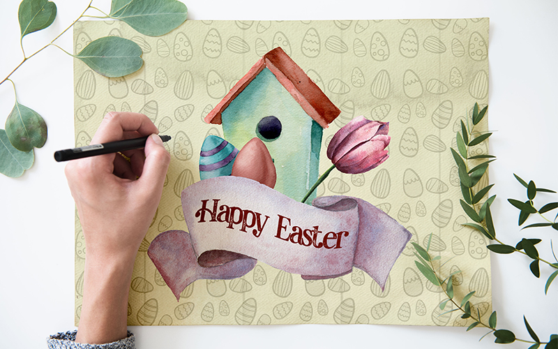 Delightful Easter Freebie Watercolor Collection - Preview 1