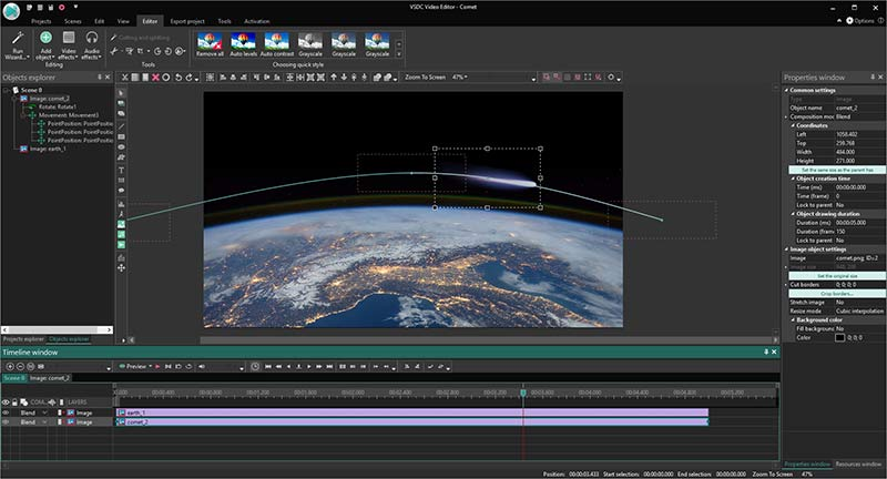 VSDC Video Editor Pro Preview 2