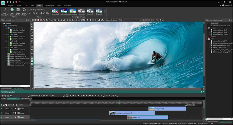 VSDC Video Editor Pro Preview 3