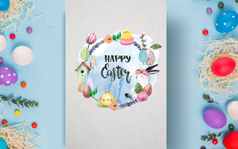 Delightful Easter Freebie Watercolor Collection - Preview 2