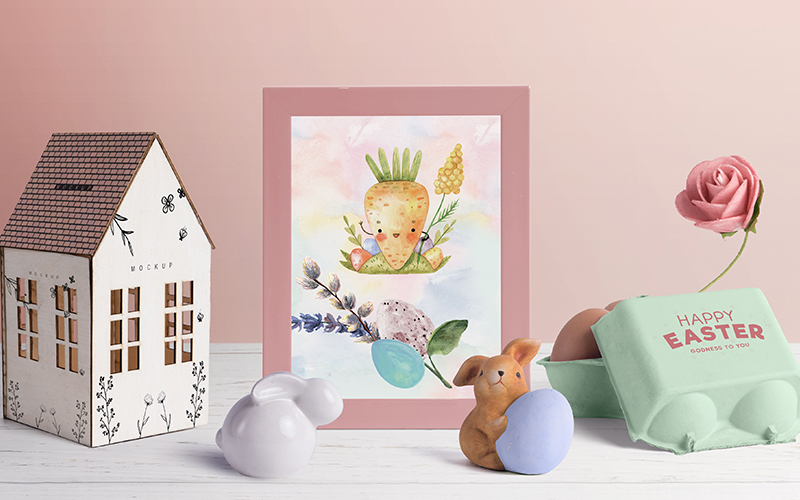 Delightful Easter Freebie Watercolor Collection - Preview 3