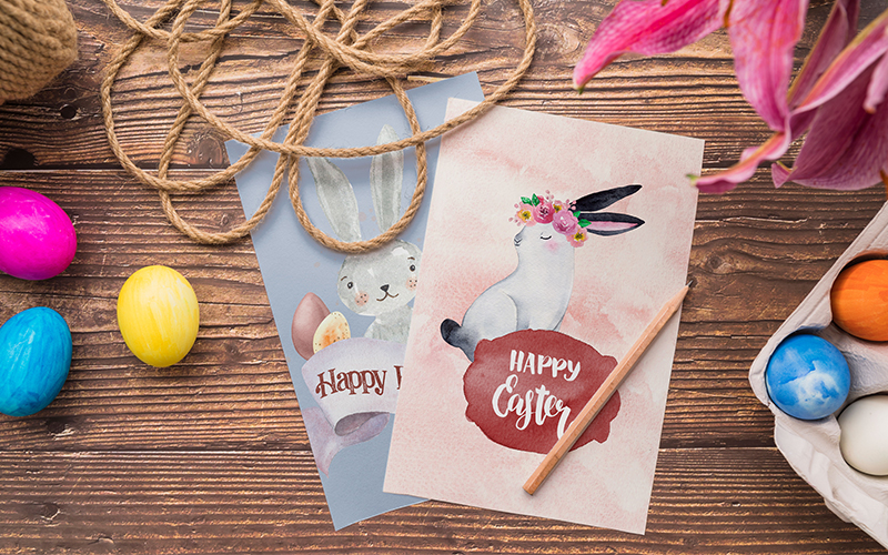 Delightful Easter Freebie Watercolor Collection - Preview 4