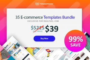 A Bundle Of 35 Ready-To-Use Ecommerce Design Templates
