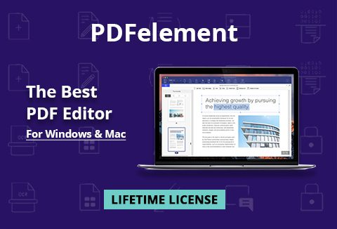 PDFelement - An Award Winning PDF Editor For Windows & Mac