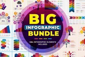Big Infographic Elements Bundle