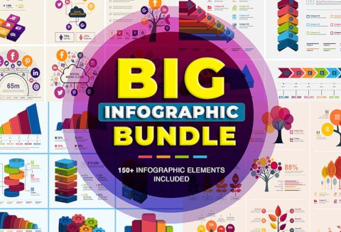 Big Infographic Elements Bundle