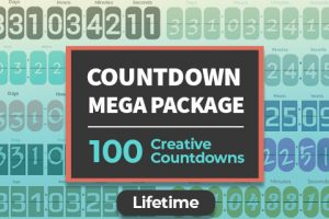 Countdown Mega Package Of 100 Countdown Timers