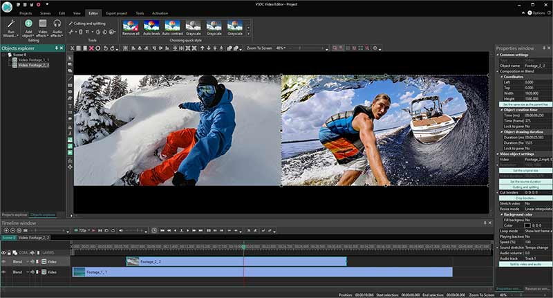 VSDC Video Editor Pro Preview 4
