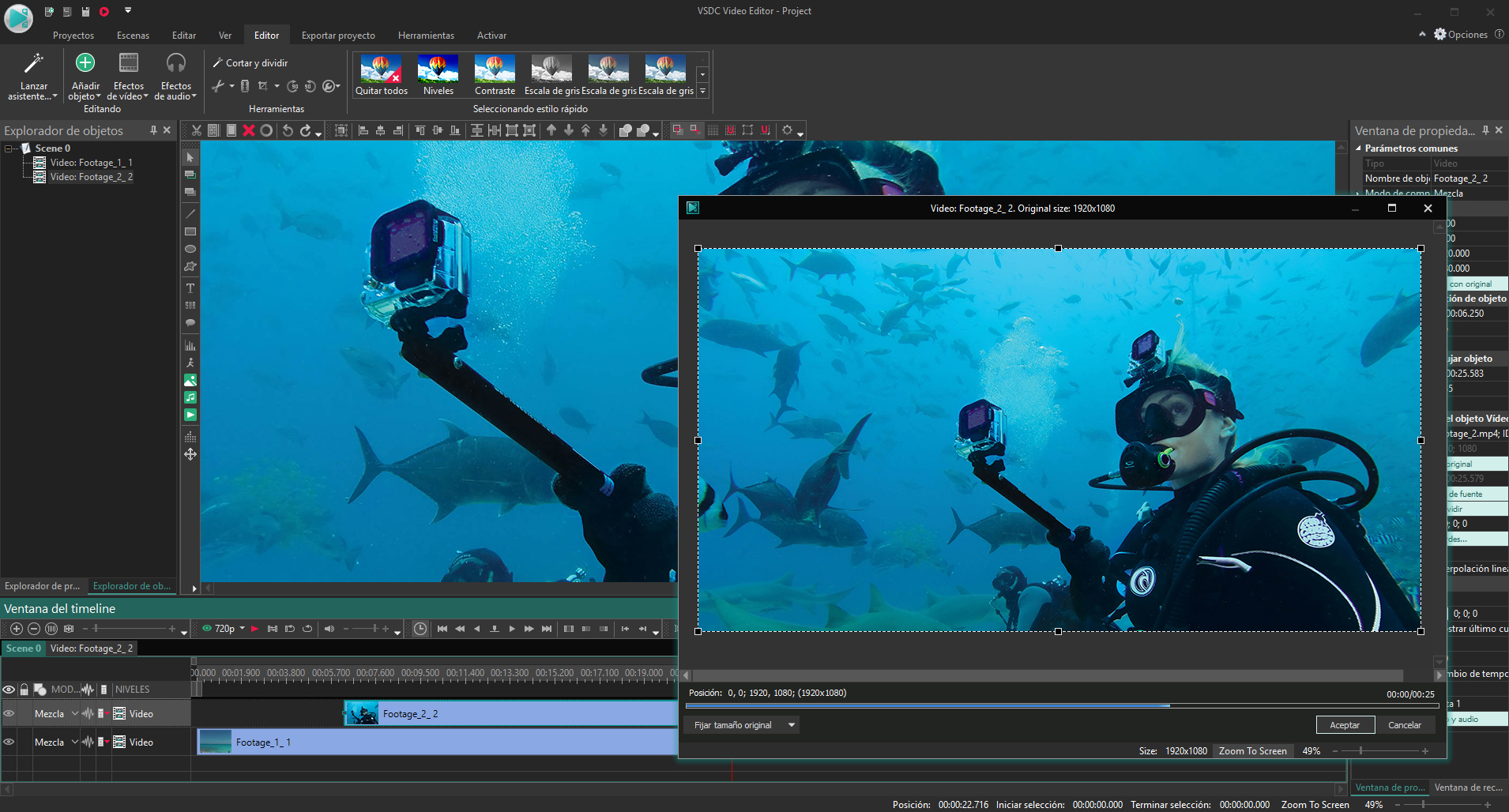 VSDC Video Editor Pro Preview 5