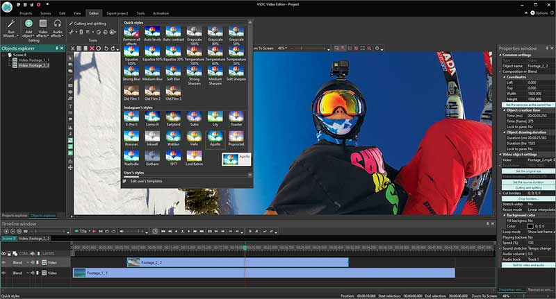 VSDC Video Editor Pro Preview 6
