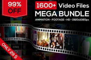 Stock Animation Footage Mega Bundle Of 1600+ HD Videos
