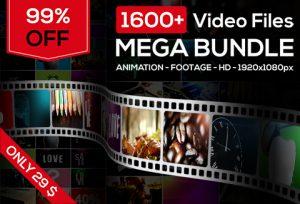 DealFuel: 99% off Stock Animation Footage Mega Bundle Of 1600+ HD Videos