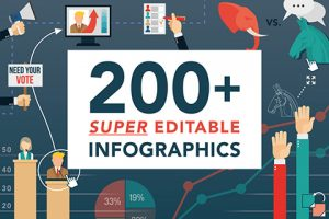 200+ Super Editable Infographics