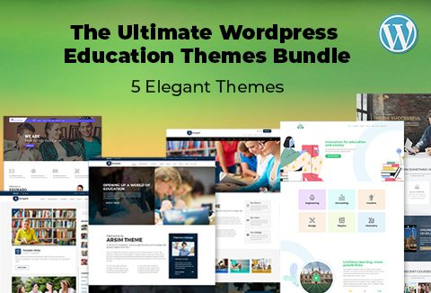 The Ultimate WordPress Education Themes Bundle