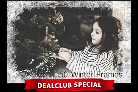 50 Winter Frames(480x326px)