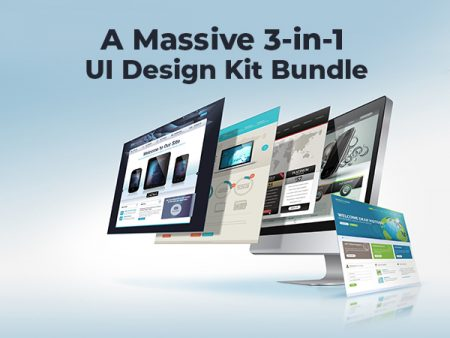 A Massive 3-in-1 UI Design Kit Bundle