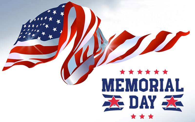 Memorial Day - Photoshop Text Overlay