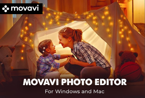 Movavi photo editor for Windows & Mac