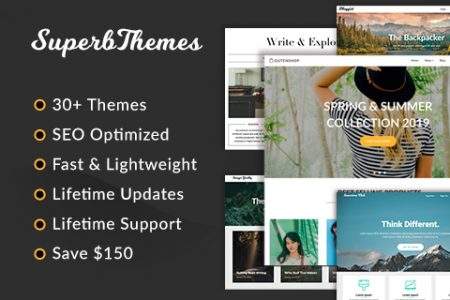 SuperbThemes - 30+ SEO Optimised WordPress Themes