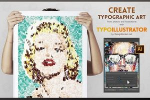 Typo Illustrator - A Typography Illustrator