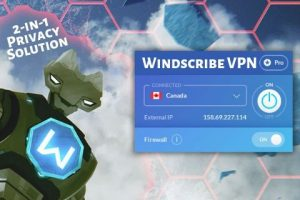Windscibe VPN Online Security Tool – Your 2-in-1 Privacy Solution