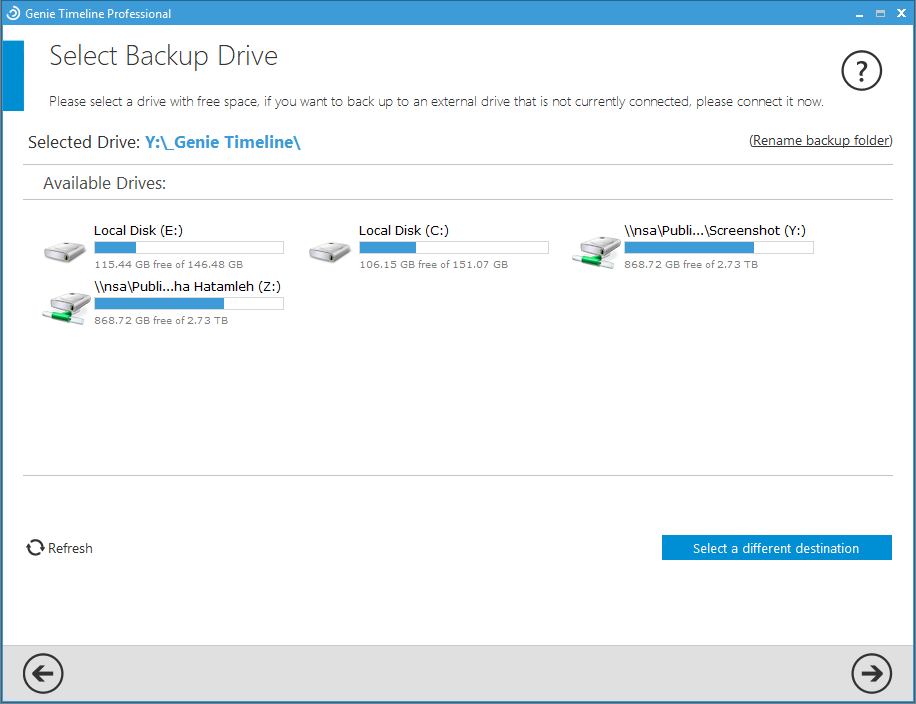 Genie Timeline 10 - A Professional Backup Solution For Windows| Lifetime -drive
