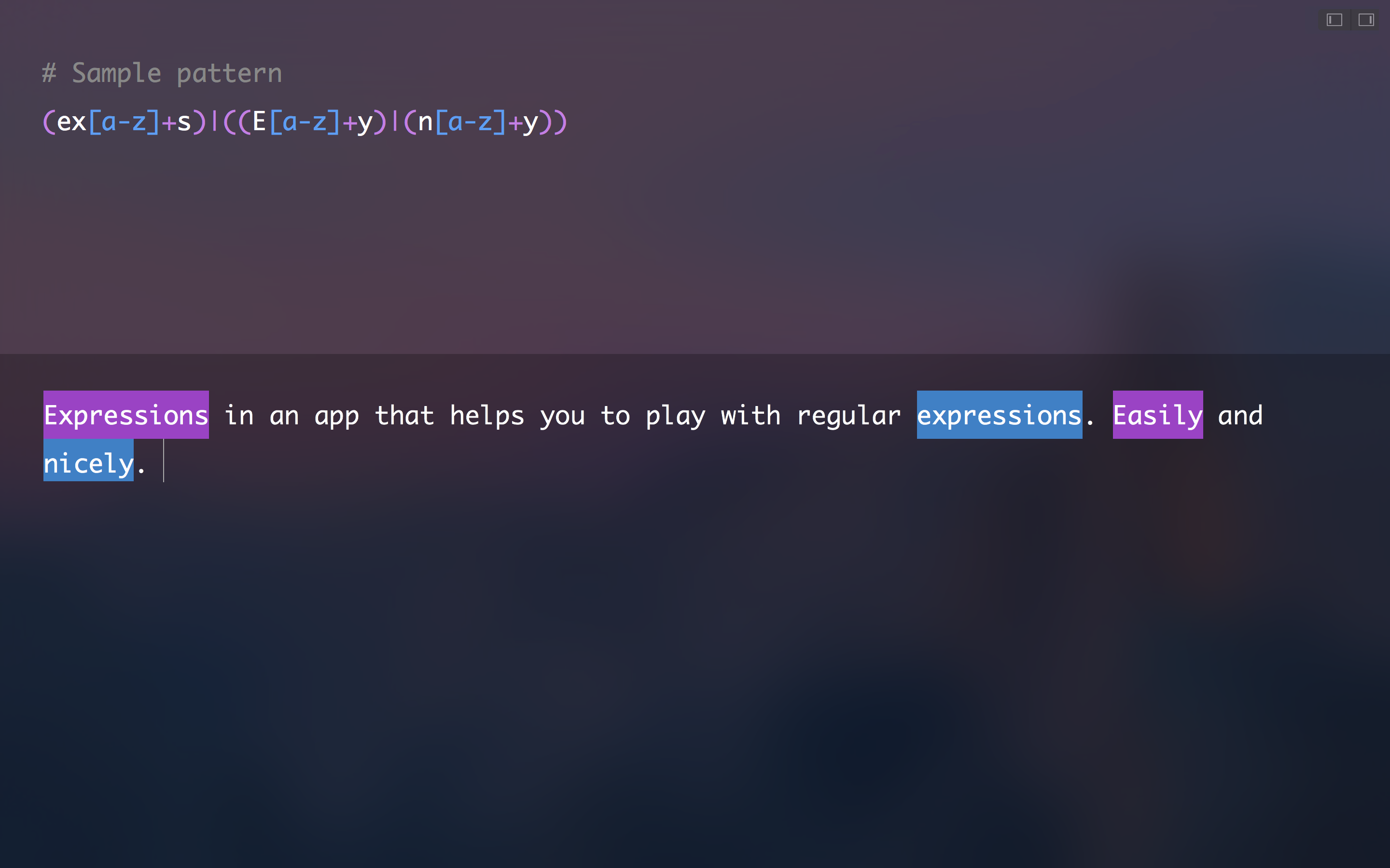 Expressions App For Mac To Write Regular Expressions - Preview 3