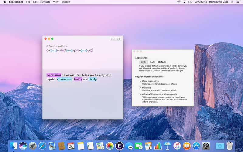 Expressions App For Mac To Write Regular Expressions - Preview 5