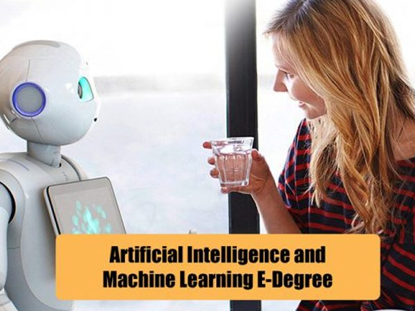 Artificial Intelligence & Machine Learning Certified eDegree | 6 eCourses