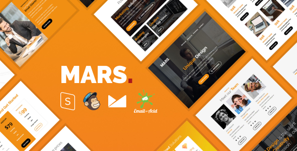 Mars - The Ultimate Multipurpose Responsive Email Templates Bundle