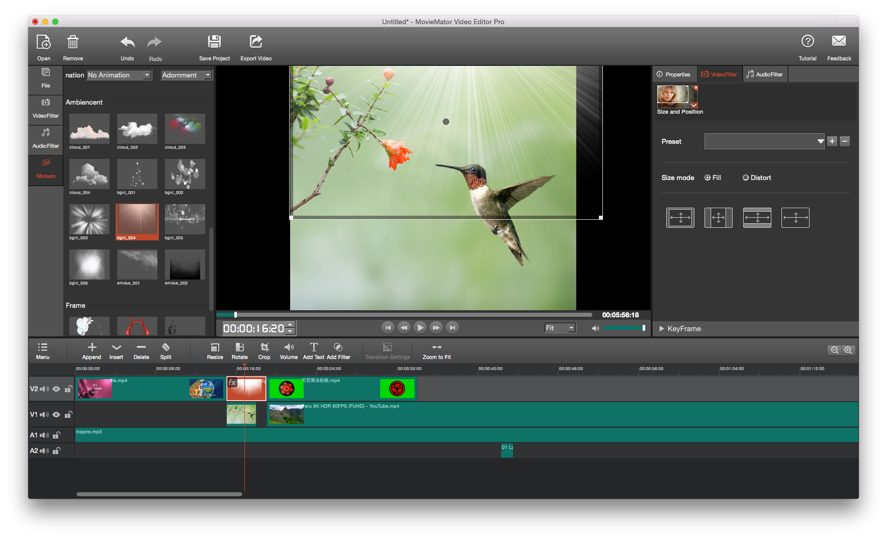 MovieMator Movie Maker - Video Editor Preview 1