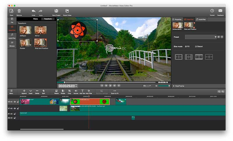 MovieMator Movie Maker - Video Editor Preview 2