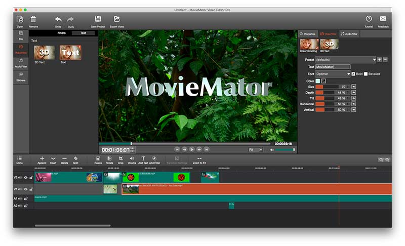 MovieMator Movie Maker - Video Editor Preview 3