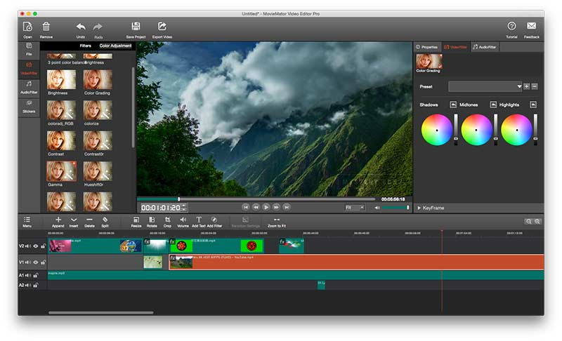 MovieMator Movie Maker - Video Editor Preview 4