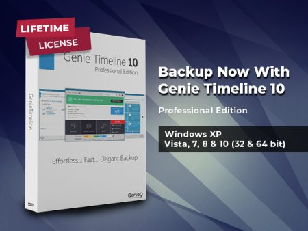 Genie Timeline 10 Professional Backup Solution