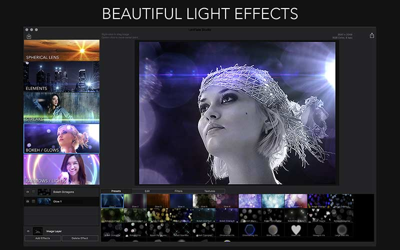 LensFlare Studio - Mac Photo Editor - Image Preview 1