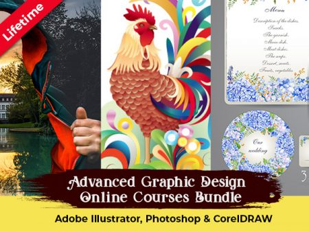 Advanced Graphic Design Online Courses Bundle