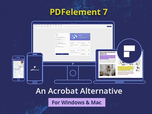 PDFelement 7 Acrobat Alternative