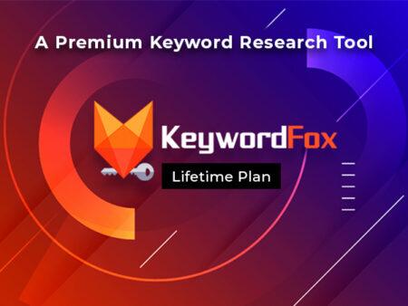 KeywordFox - A Premium Keyword Research Tool For A Lifetime