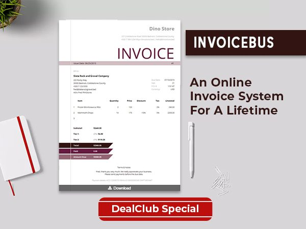 Stay On Top Of Your Cash With InvoiceBus Online Invoice System | Lifetime