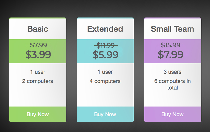 Pricing Plan Of The Expressions App For Mac: