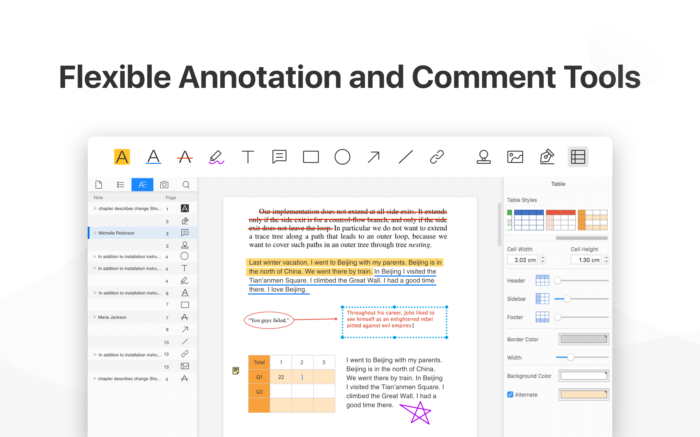 PDF Reader PRO - Flexible Annotation & Comment Tools