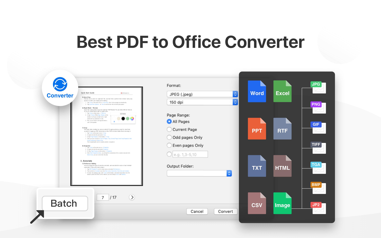 PDF Reader PRO - PDF To Office Converter